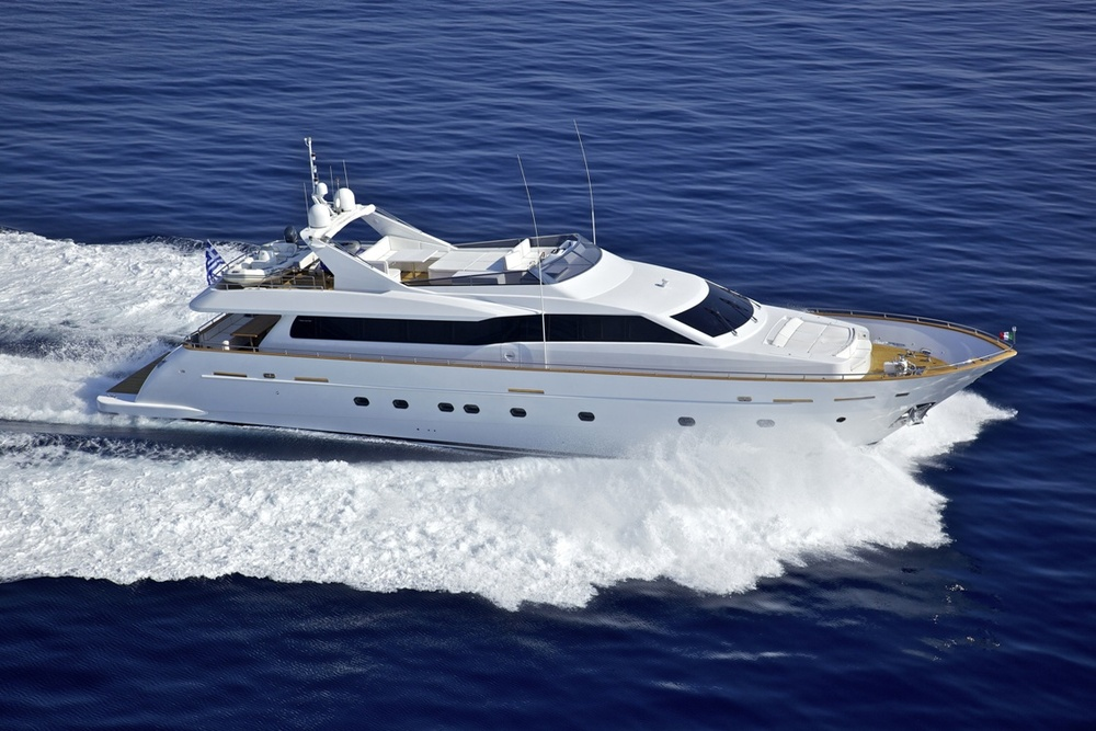 Crewed Motor Yacht Charter Greece